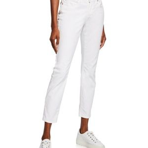 Eileen Fisher Organic Cotton White Jeans